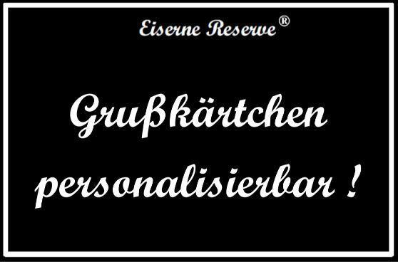 """""""Personalisierbar """" Die Eiserne Reserve ®  Black Edition mit Früh Kölsch 0,50L"""