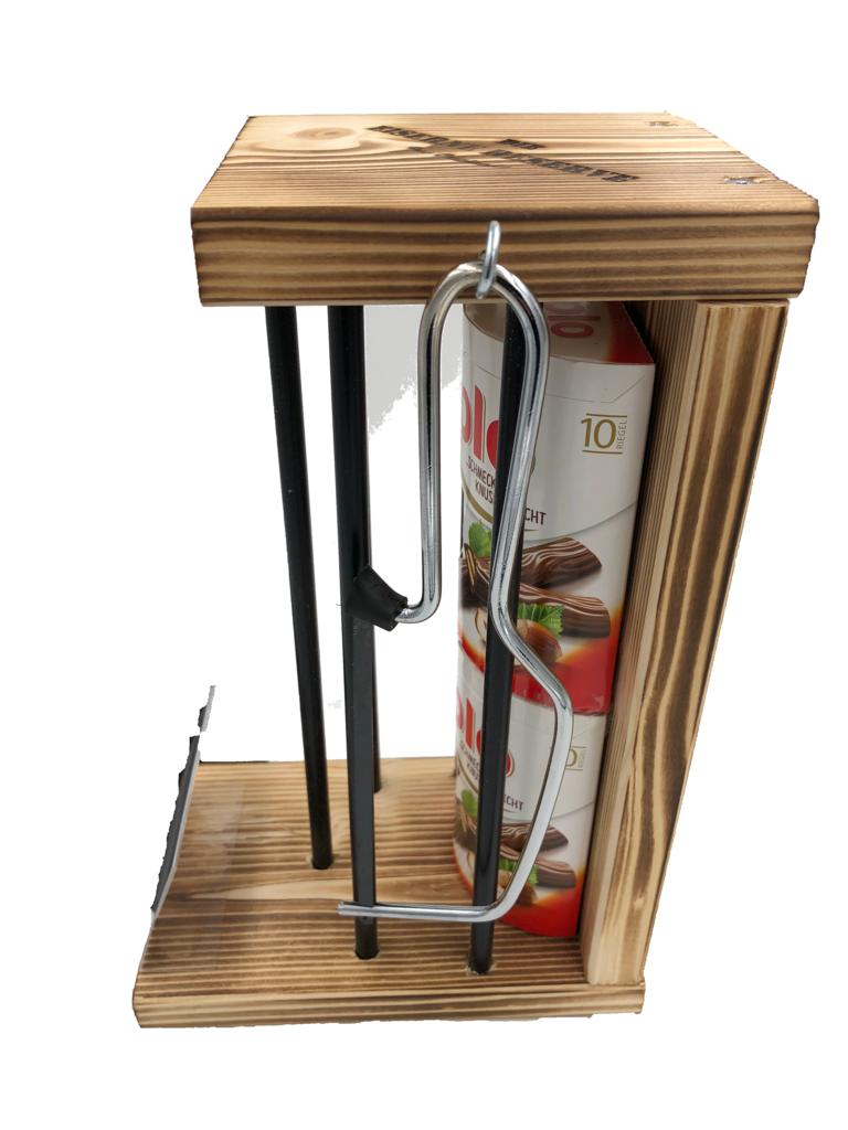 Personalisierbar Black Edition Eiserne Reserve ® mit 20 Riegel duplo