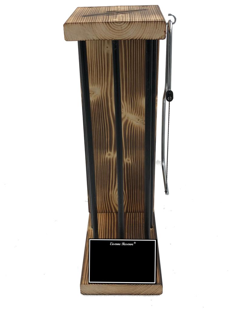 Personalisierbar Black Edition Eiserne Reserve ® - Größe L - Rohling zum SELBST BEFÜLLEN