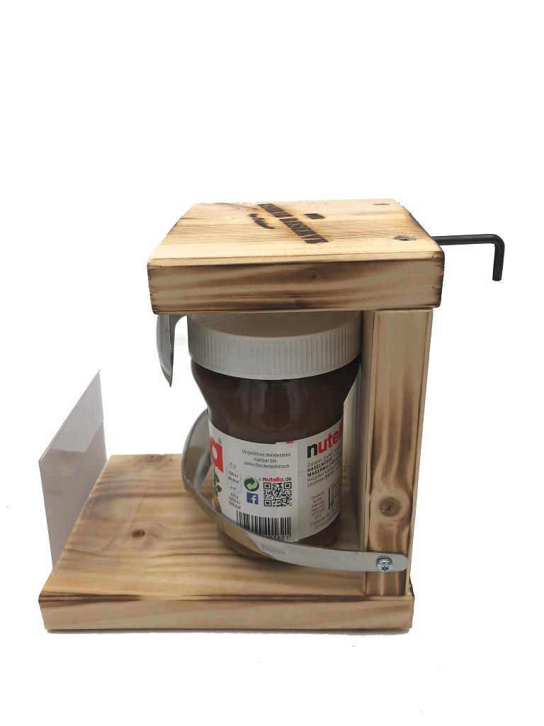 Personalisierbar  Eiserne Reserve ® Nutella mit Löffel