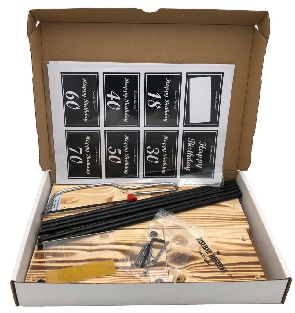 Eiserne Reserve ® Black Edition - Größe M - Selbst-Bau-Satz - DIY