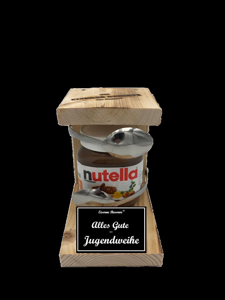 Geschenke Zur Jugendweihe Loffel Nutella Geschenk Die Nutella Geschenkidee